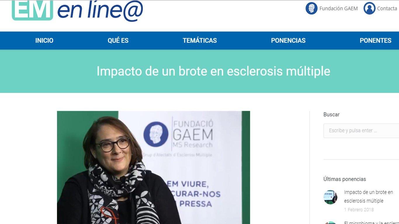 VideoEntrevista Impacto Brote en EM - Psicologa Sandra Sanchez